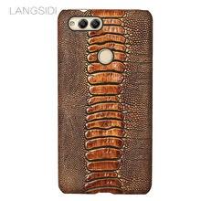 Чехол для телефона из натуральной кожи huawei p samrt чехол