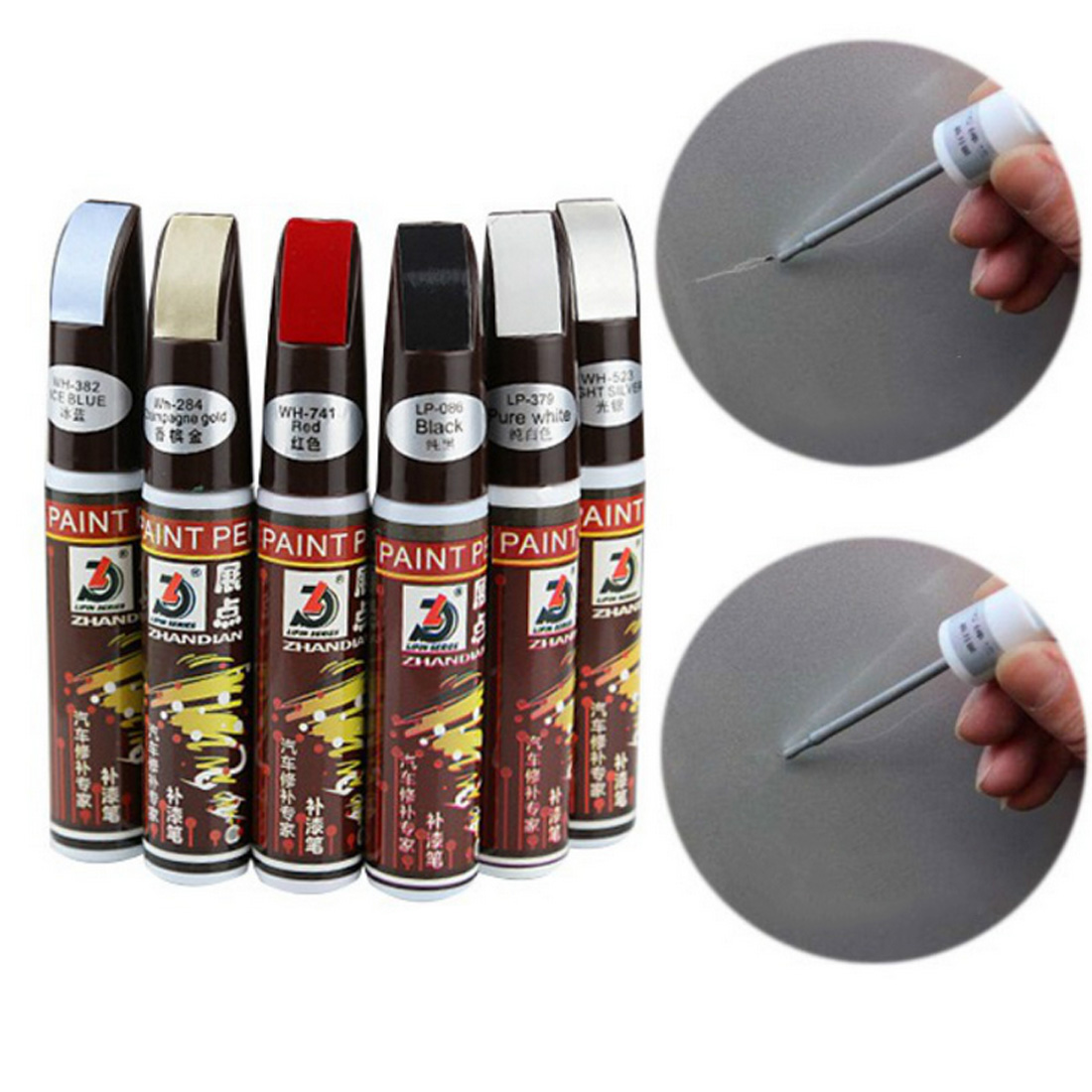 New Car Touch Up Pen Waterproof Remove Applicator Utility Professional Car Jacket Scratch Clear Repair Coloring Handle Touch