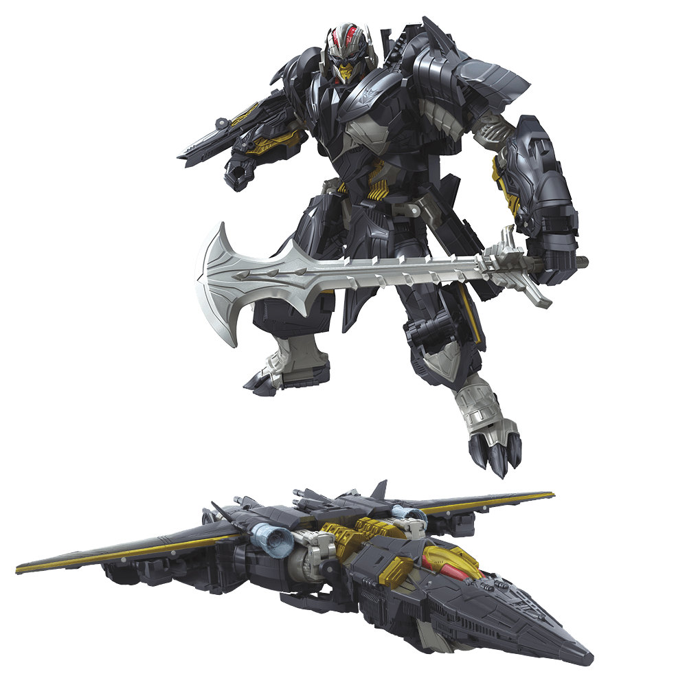 Transformed toy toy sailing home Megatron C2355 a superpower transformed