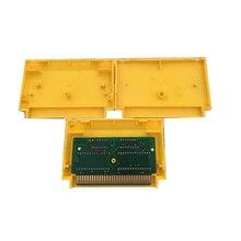 Японская версия, сменный игровой картридж, пластиковый корпус для J-a-l-e-c-o, 8 бит, игровая карта для F C, желтый, синий, черный, красный