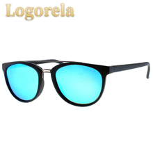 LOGORELA BRAND DESIGN Classic Polarized Sunglasses Women Vintage TR90 Frame Driving Men UV400