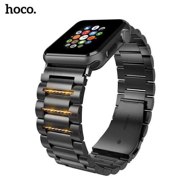HOCO נירוסטה רצועת השעון סיכות שחרור עבור אפל שעון 44 mm קישור צמיד החלפת רצועת השעון עבור iwatch Serise 4