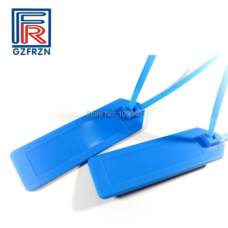 UHF RFID Zip Tie Cable Tags With Alien 9662 For Parcel Tracking Classification Of Electricity Power Lines 100pcs/lot