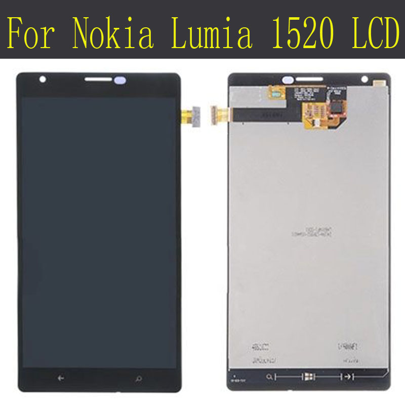 For Nokia Lumia 1520 LCD Display with Touch Screen Digitizer Assembly font b Tools b font