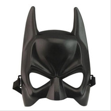 1Pcs Halloween Batman Mask Adult Black Masquerade Party Carnival Dressing Upper Half Face Mask For Man Cool Face Costume Kit