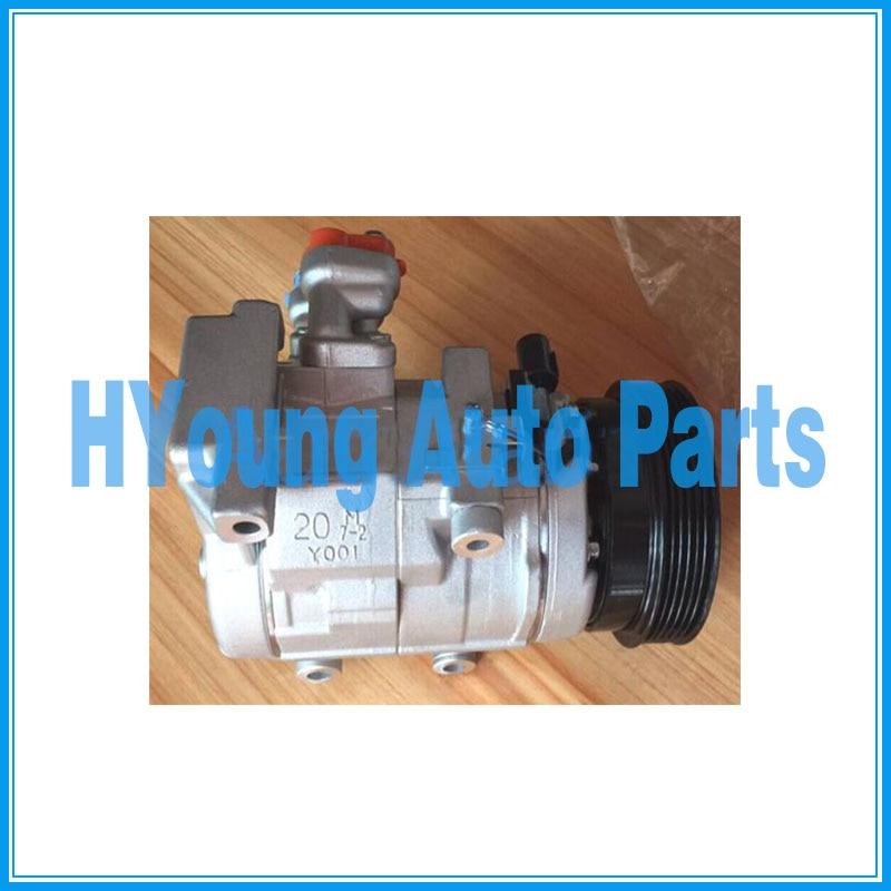 Compresor de aire acondicionado 10S20C para Kia Grand Carnival 3,8 CO 10975C 977013E930 447260-6591, venta directa de fábrica