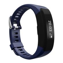 Smartch H28 умный Браслет фитнес-Bluetooth браслет монитор сердечного ритма напоминание сенсорный экран OLED группа PK CK11 A09 F1 C1