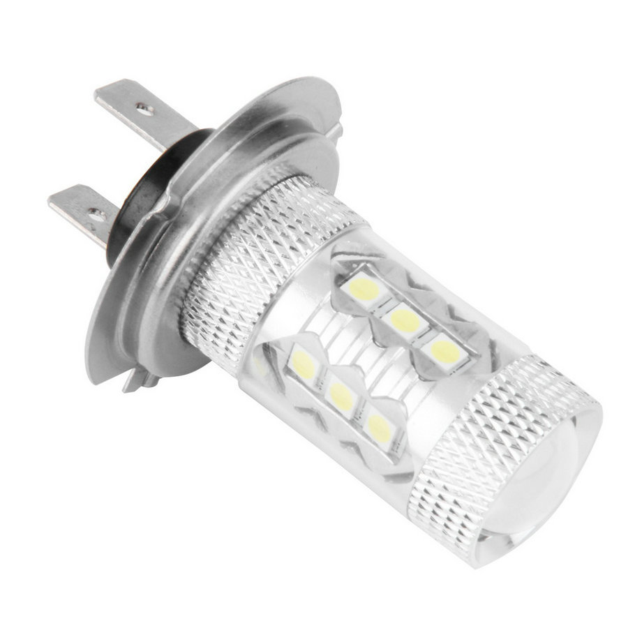 New Big Promotion H7 80W High Power LED Car Auto Driving Fog Tail Headlight Light Lamp Bulb White 12V hot selling high quality h3 led 20w led projector high power white car auto drl daytime running lights headlight fog lamp bulb dc12v