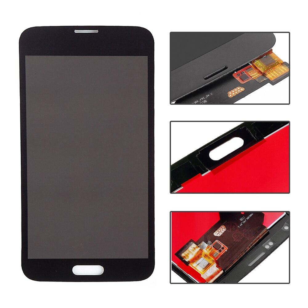 imágenes para Blanco Negro Para Samsung Galaxy S5 G900F G900A G900T G900V G900P Pantalla LCD Táctil Digitalizador Asamblea Completo Envío Gratis