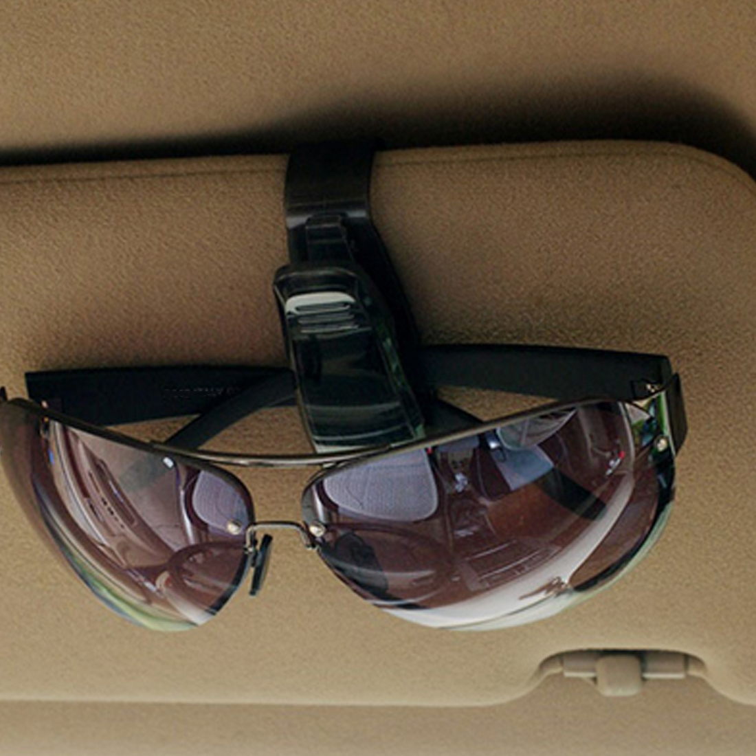 Fashion Auto Fastener Cip Auto Accessories ABS Car Vehicle Sun Visor Sunglasses Eyeglasses Glasses Holder Ticket Clip in Eyewear Accessories from Apparel Accessories