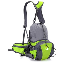 TANLUHU 316 Nylon Sports Bag Outdoor Climbing Hiking Backpack Unisex Waist Pack Kettle Handbag Running