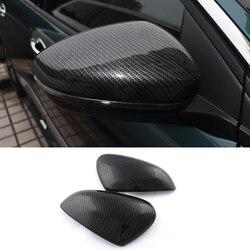 Dla Peugeot 3008 GT 5008 2 2nd 2017 osłona lusterka samochodowego Reaview Mirror Protector dekoracja zewnętrzna akcesoria samochodowe stylizacja samochodu