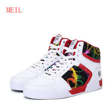 Men Casual Shoes Trainers Ankle Lightweigh Sneakers Leather High Top Walking Breathable Winter Lovers snow Boots