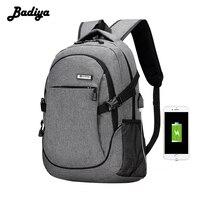 Leisure Travel Multifunction Usb Charging Men Backpacks For Teenager Male Laptop Mochila Backpack Anti Thief Sac
