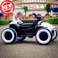 2019 crianças do miúdo do bebê rideable Luminosa quatro-rodas da motocicleta carro elétrico com controle remoto Pode passeio off-road veículos