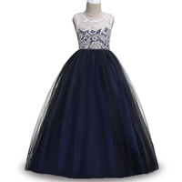 Lace Princess Dresses For Girls Clothes Tulle Children S Costume For Kids Prom Gown Designs Big
