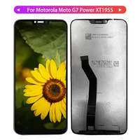 G7 LCD For Motorola Moto G7 Power XT1955 Display LCD Display Touch Screen Panel Digiziter Assembly For Motorola Moto G7 Parts