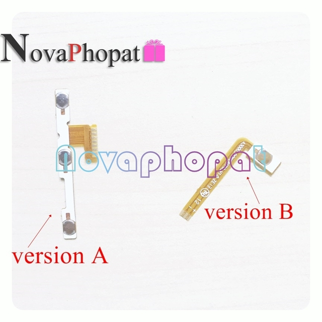US $1 99 |Novaphopat Power On/off Volume Switch Flex For Lenovo A1000 Side  Button Volume Key Flex Cable Board Replacement+ Tracking-in Mobile Phone