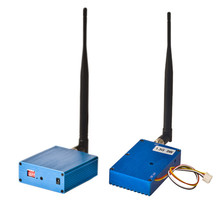 1.3G 3 W 3000 mW PAL/NTSC VTX FPV AV Sem Fio Transmissor e Receptor Combo para RC Zangão