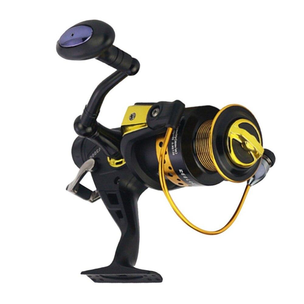 KV30-80 Double tête en métal avant et arrière frein bobine poisson mer pêche roue lancer ronde carpe pêche moulinet engins de pêche