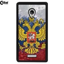 Russa emblema nacional da marca case capa para meizu m3 m2 note mx6 mx4 pro htc one x m7 m8 m9 a9 m9 + m10 mini 626 826 820 816