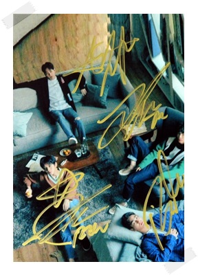 signed Highlight autographed group photo K-POP  6 inches free shipping 102017 signed infinite jang dongwoo dong woo autographed photo k pop 6 inches free shipping 102017