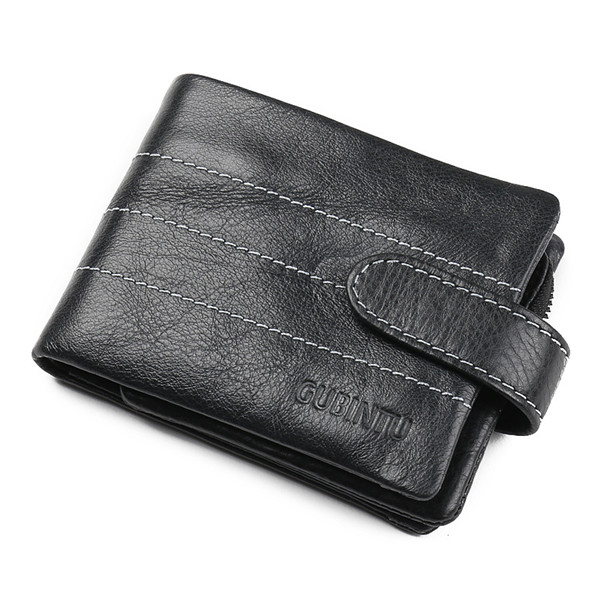 Genuine Cowhide Leather Men Wallet Short Coin Purse Small Vintage Wallet Brand High Quality Vintage Designer 2017 genuine cowhide leather brand women wallet short design lady small coin purse mini clutch cartera high quality