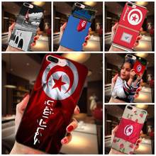 Print Phone Case For Samsung Galaxy A3 A5 A6 A6s A7 A8 A9 Star Plus 2016 2017 2018 Tunisia Tunisian Flag(China)