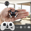 2016 LIDI L7C 2.4G Mini RC Quadcopter Drone Con Cámara de ALTA DEFINICIÓN de Imagen Vedio 3D Flip VS JJRC H8 Mini Drone