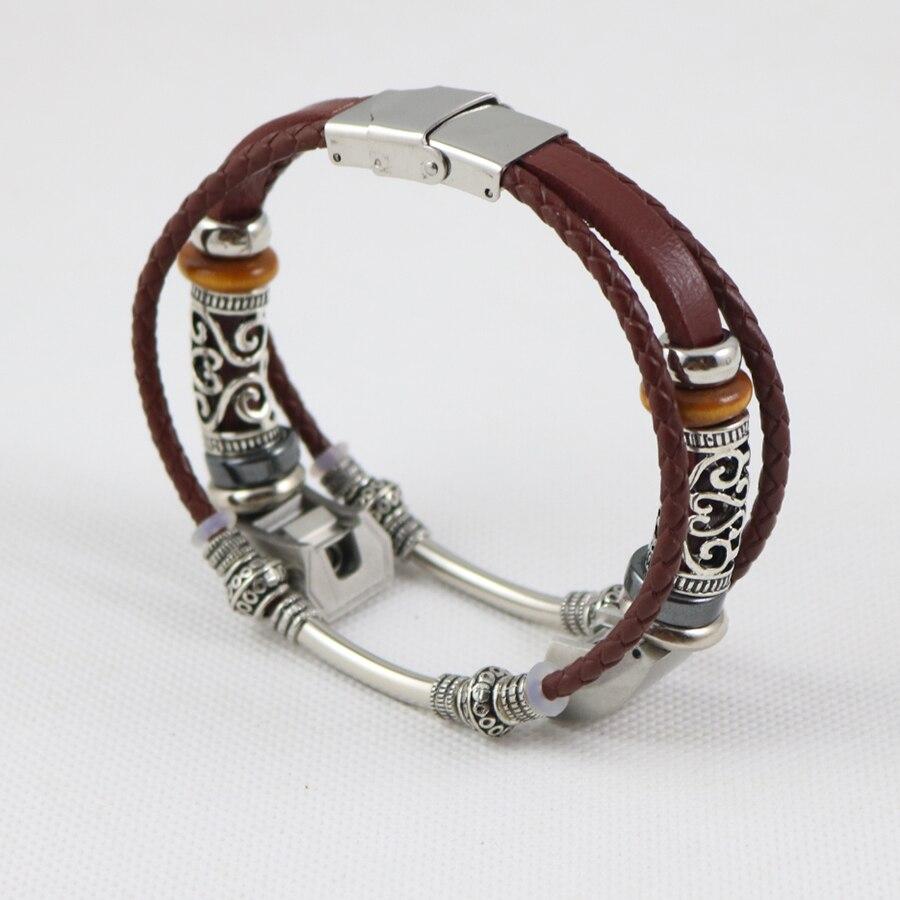 Ersatz Leder Armband für Fitbit Alta HR/Alta Armband Armband Retro Handgelenk Band Strap Correas de reloj Drop Verschiffen