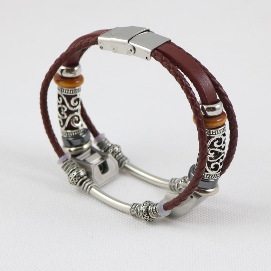 Replacement Leather Watchband for Fitbit Alta HR/Alta Bracelet Wristband Retro Wrist Band Strap Correas de reloj Drop Shipping