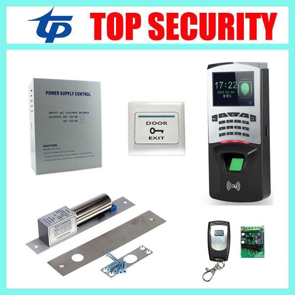 TCP/IP USB fingerprint door access control system with RFID card reader DIY biometric fingerprint access controller