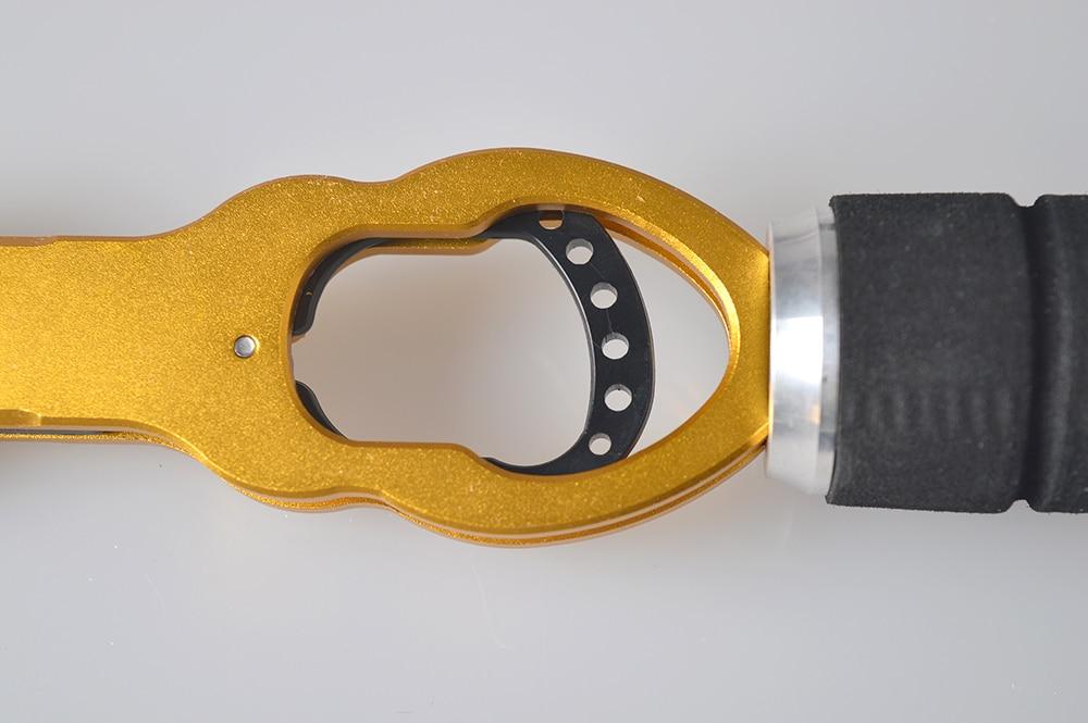 Fischerei Grip Fish Lip Grip Werkzeuge mit 15KGS Scale New Aluminium - Angeln - Foto 5