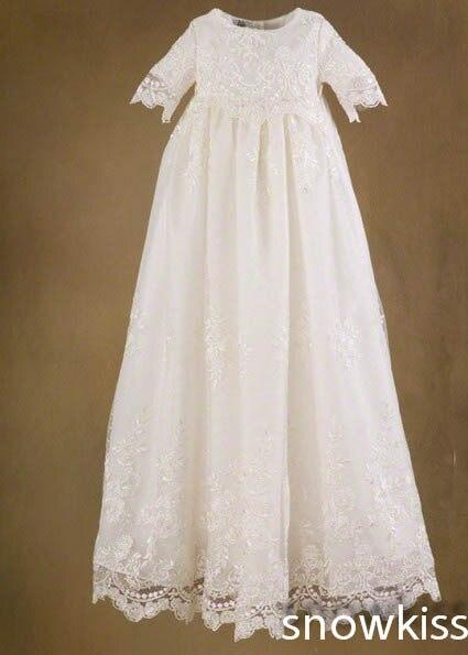 Us 970 Elegante Spitze Seide Kleinkinder Taufkleid Taufe Kleid Für Mädchen Jungen In Kleider Aus Mutter Und Kind Bei Aliexpress