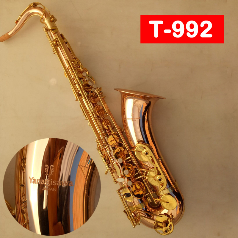 New Tenor Saxophone YANAGISAWA T-992 T-WO20 Bb Phosphor bronze copper High Quality Sax Professionally Paragraph Music mouthpiece professional play h68 phosphor bronze copper bb saxphone falling tune b bakelite mouthpiece head sax straight saxophone in bb