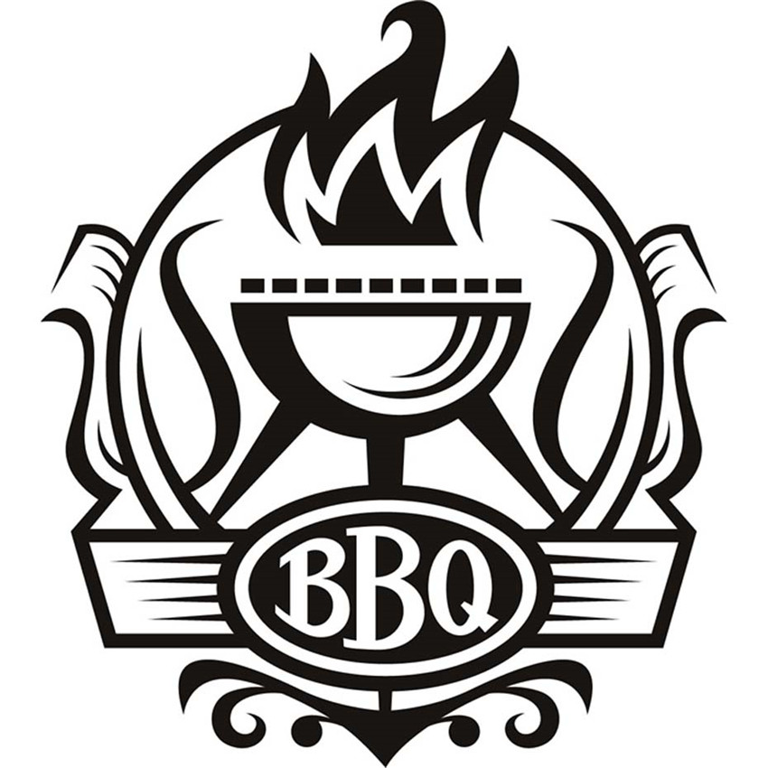 Top The world's Cheapest Products ♛ bbq sticker in Car Home