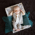 Newborn Baby Boy Handmade Crochet Photography Props Hat+Pants Sets Infant Baby Gentleman Fotografia Shooting Accessories Outfit