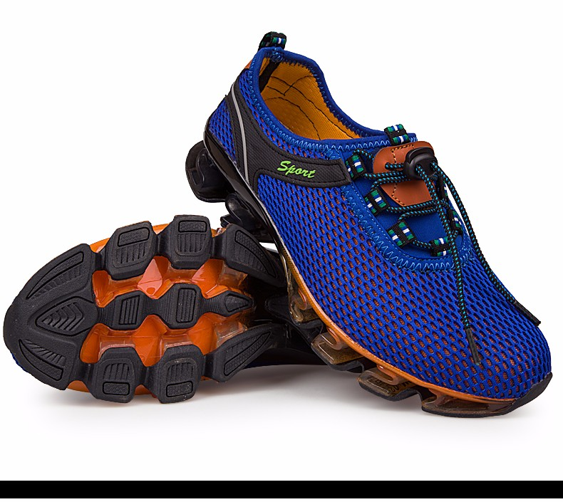 Super Cool breathable running shoes men sneakers bounce summer outdoor sport shoes Professional Training shoes plus size 29