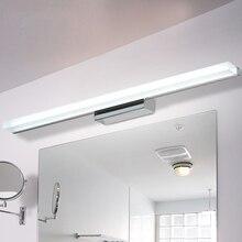 современный водонепроницаемый акриловый настенный светильник для освещения ванной комнаты