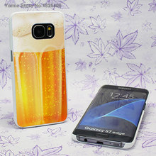 Beer fun phone cases for Samsung Galaxy s7 s6 edge s4 s5 mini note 5 note 4