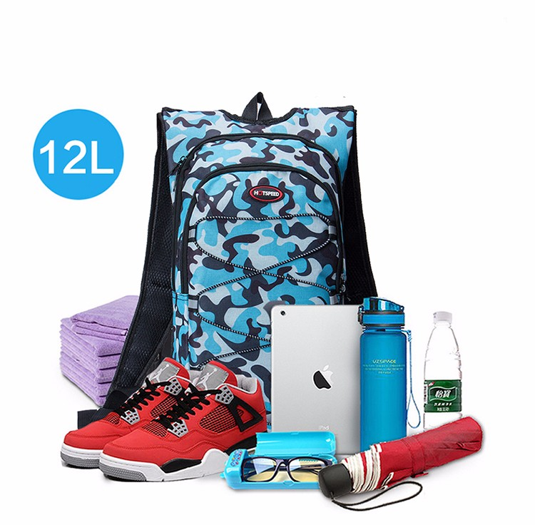 HOTSPEED 12L Sports Water Bags Bladder Hydration Cycling Backpack Outdoor Climbing Camping Hiking Bicycle Bike Bag Camelback 11