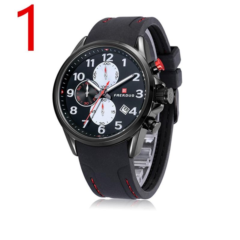 zou's male student sports quartz watch waterproof fashion non-mechanical watch 2018 new men's watch men's watch swimming diving