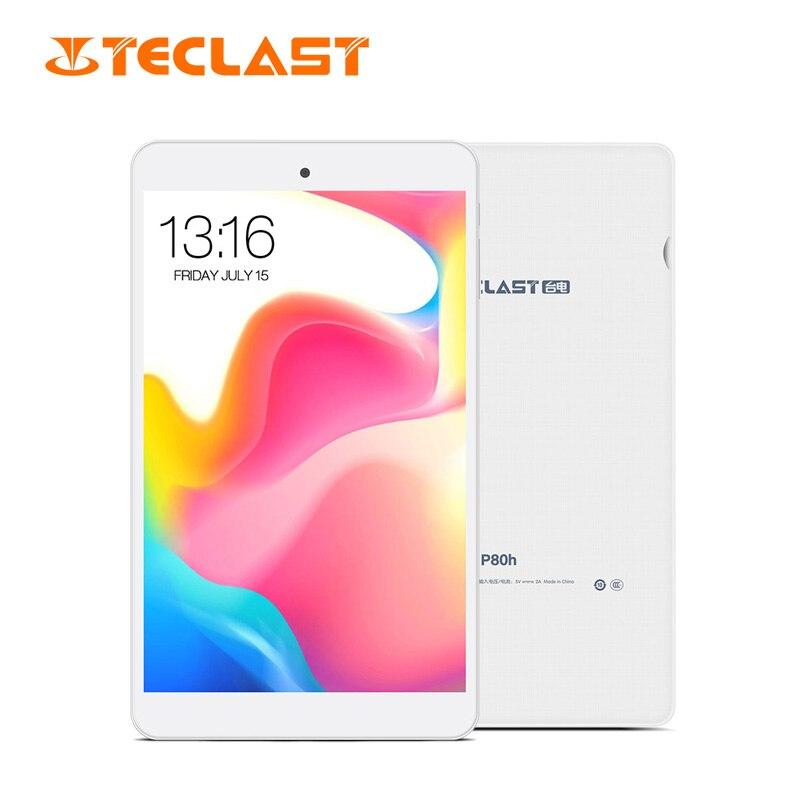 Teclast P80H Android 8 pouces tablette PC MT8163 Quad Core 1280*800 1GB RAM 16GB ROM double caméra tablette GPS HDMI musique Immersive