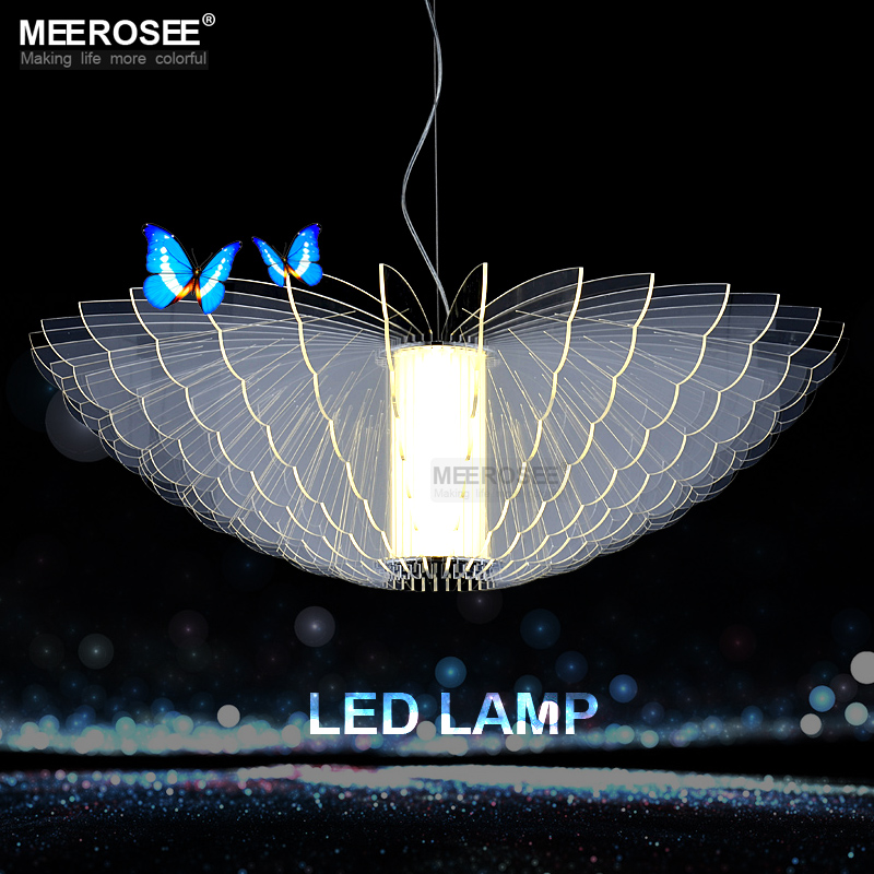 Furniture Light Bulbs Beautiful Photo Led Light Bulbs For: Beautiful Butterfly LED Chandeliers Light Fixture White
