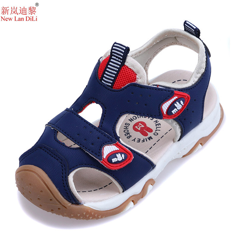High Quality 20 style Summer Beach Sandals Kids Closed Toe Toddler Sandals Children Fashion Designer Shoes For Boys And Girls ...