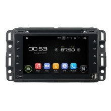 Fit for GMC2016 full touch android 5.1.1 hd 1024*600 car dvd player gps auto radio 3G wifi obd2 dvr FREE MAP canbus including