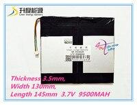 5 Thread 35130145 3 7V 9500mAH Real Capacity Li Ion Battery Battery Cell For 9 7