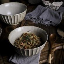 Creative Japanese Tableware Fruit Salad Bowl Ceramic Dinnerware Ramen Bowl Home Soup Bowl Pasta Bowl 8 inch creative japanese ramen instant noodle bowl large ceramic salad bowl fruit dish soup spaghetti pasta microwave tableware