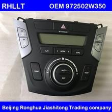 Control de clima de controlador de calentador de peligro de interruptor de la luz de un/C/aire acondicionado controlador para Hyundai Santa Fe DM13 16 OEM 972502W35