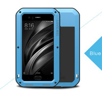 LOVE MEI Shockproof Case For Xiaomi Mi 6 Case Cover Xiaomi Mi6 Back Cover Hard Protective